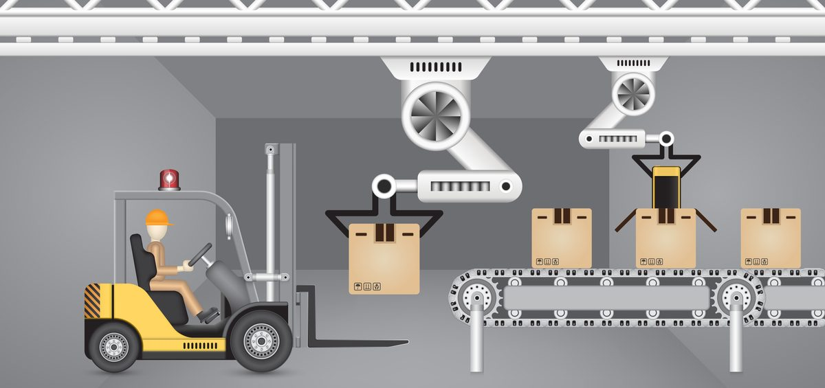 automation in warehouse