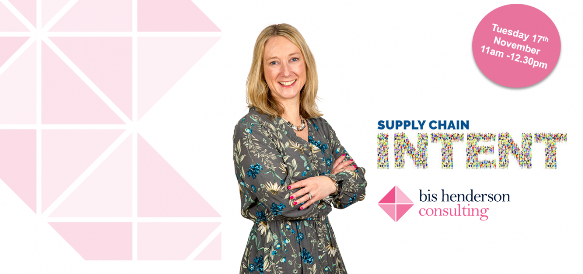 Louisa Hosegood, Supply Chain Intent logo